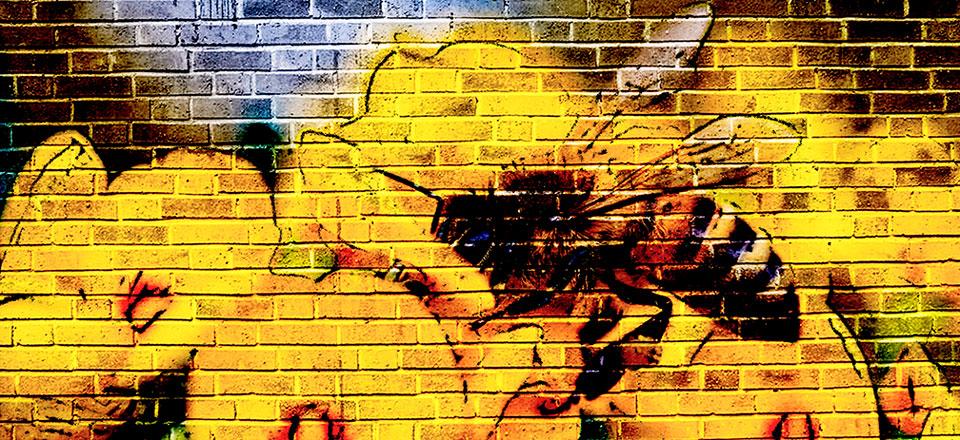Bee City Mural