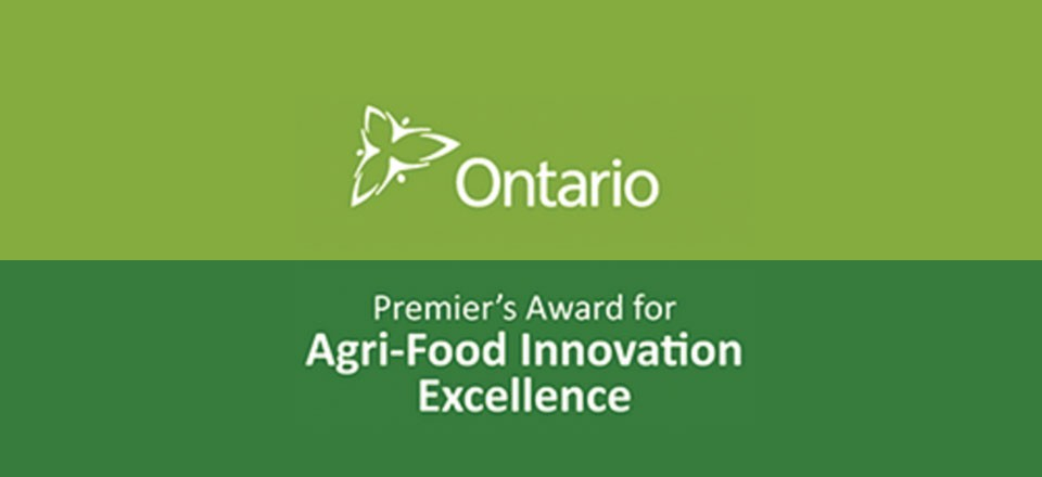 Premier's Award for Agri-Food Innovation Excellence program open for applications to April 15, 2016