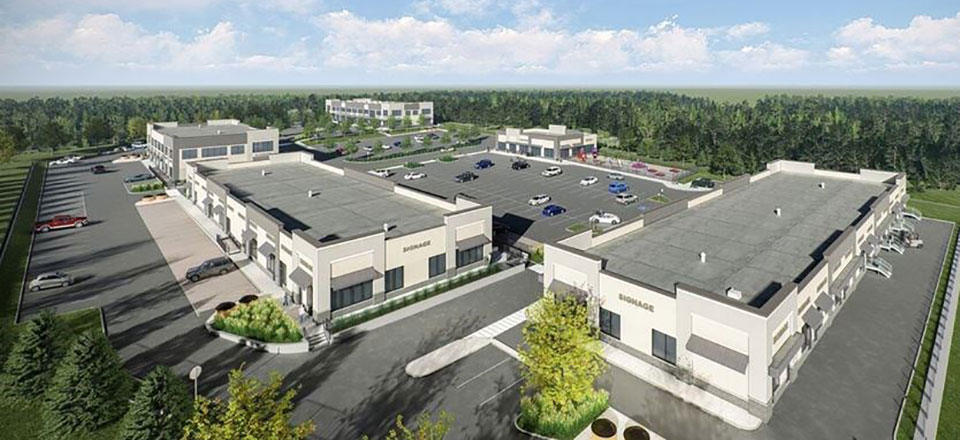 85,000-square-foot commercial plaza being built in Midland's east end