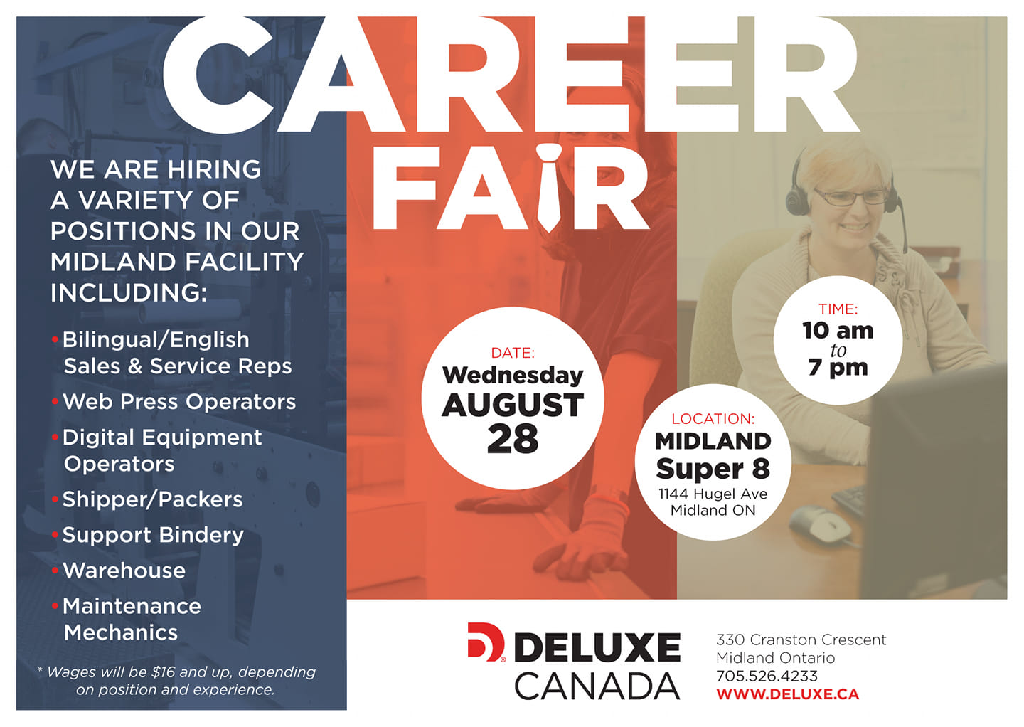 Deluxe Career Fair