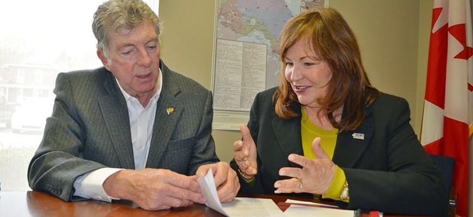 Roy Ellis and Sharon Vegh