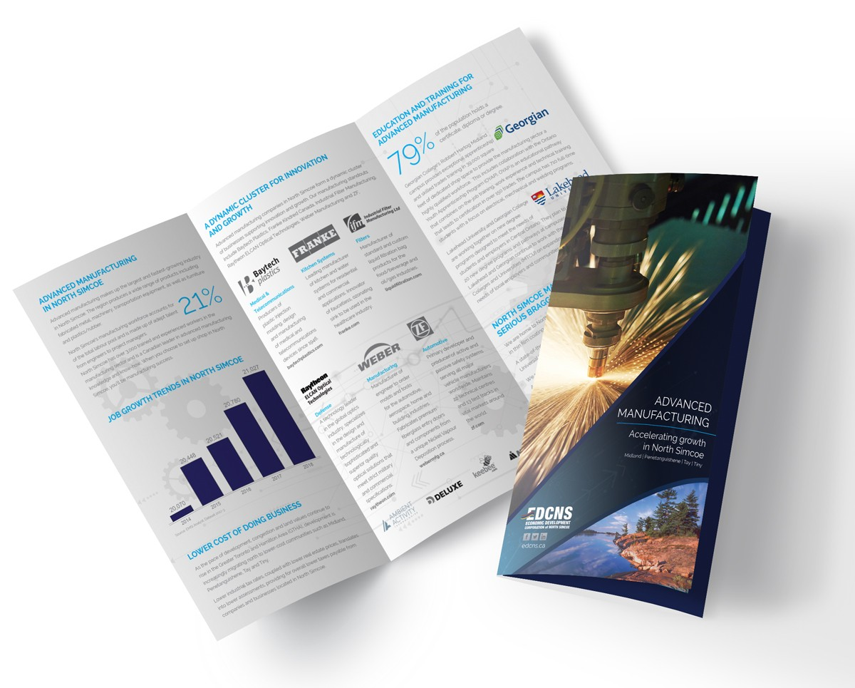 Advanced Manufacturing brochure image