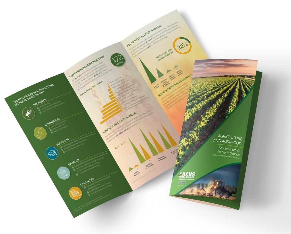 Agribusiness brochure image