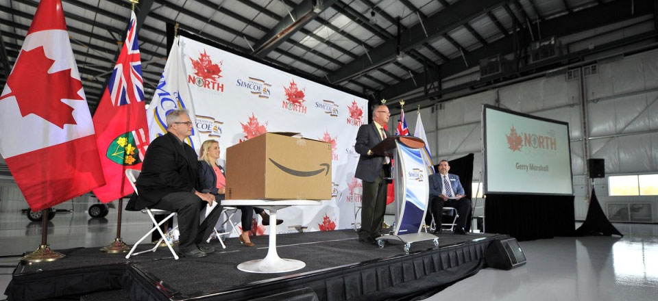 County of Simcoe + Amazon = North of Ordinary