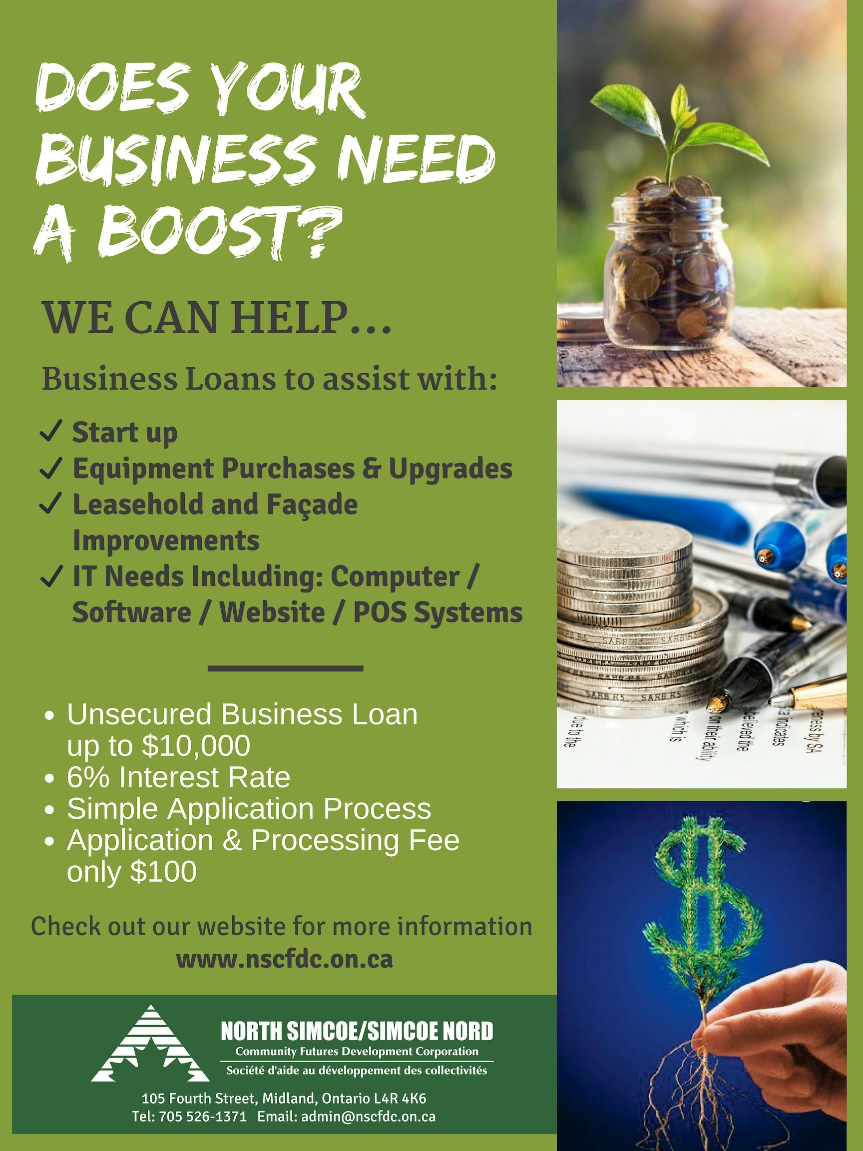 Does your business need a boost?