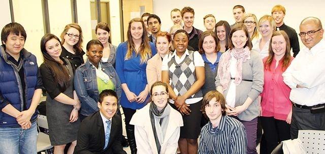 students help market HEA