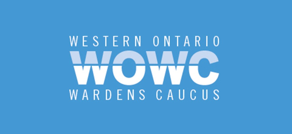 Warden George Cornell appointed as Chair of WOWC
